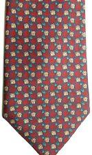 "Lanvin Men's Silk Tie 59.5"" X 3.5"" Multi-Color Geometric"