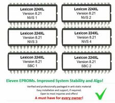 Lexicon 224XL - Version 8.21 Latest Firmware Update Upgrade for 224 XL