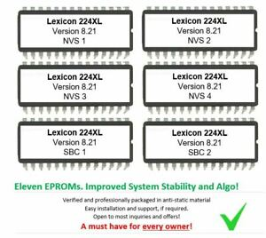 Lexicon 224XL - Version 8.21 Latest Firmware Update Upgrade For 224 XL XXL