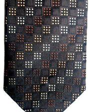 "Valerio Garati Men's Silk Tie 59.5"" X 3.75"" Multi-Color Geometric"