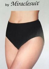 NWT MiracleSuit Swimmer Bottoms Briefs, Togs, Bathers Miracle Suit, Black