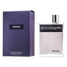 NEW Prada Amber Pour Homme EDT Deluxe Refillable Spray 3.4oz Mens Men's Perfume
