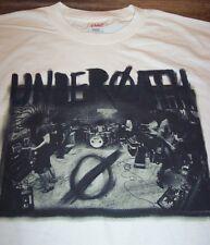 UNDEROATH Hardcore Band T-Shirt SMALL NEW