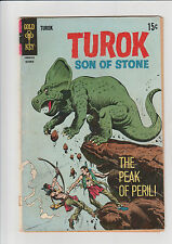 Turok  #63  G  Gold Key comic 1968  Peak of Peril