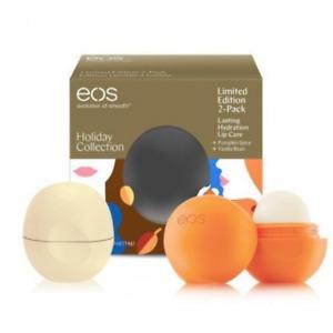 EOS Holiday Collection Pumpkin Spice & Vanilla Bean Lip Balm Set