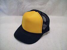 NEW NAVY GOLD FOAM FRONT SUMMER MESH TRUCKER STYLE HAT OTTO CAP 39-169