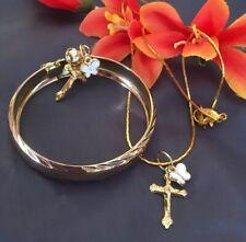 Gold Plt ,Baby,Gift Set Keepsake/Bracelet/necklace&charms/In a Box
