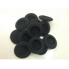 Black 10 Piece 60mm Foam Replacement Ear Cushion Earpad Covers for Headphone New