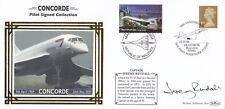 (08237) GB/ Maldives Benham Cover Concorde Captain Signed John Rendall 2004