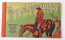 scarce 1934 MEN OF THE MOUNTED Whitman SEARS premium book BLB