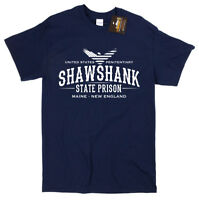 Shawshank Redemption Inspired State Prison T-shirt - Classic Film Tee Shirt NEW