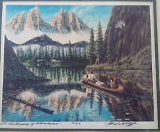 """Signed Print """"In the Company of Adventuers"""" #9/950 by Fred Sutliffe"""