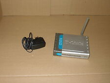 D-Link 4-Port 802.11g/2.4GHz  Wireless Router DI-524