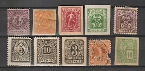 Germany Local Issued Municipal Privatpost Stadtpost Delivery service selection 2