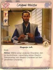 Legend of The Five Rings lunaires - 1x #084 Origami-Maître-Le destin connaît Kei