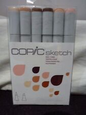 Copic Sketch Set Skin Tones 6pk - Multi