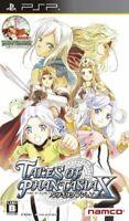 USED PSP Tales of Phantasia Narikiri Dungeon X 97355 JAPAN IMPORT