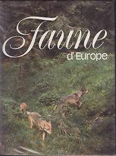 JIRI FELIX  FAUNE D'EUROPE ILL. DE KVETOSLAV HISEK 1974