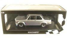 1973 BMW 2002 Turbo plata 1 18 Minichamps