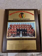 Chicago Blackhawks 1961 Stanely Cup Championship Plaque