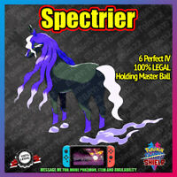 SPECTRIER | Crown of Tundra | 100% Legal | 6IV |  Pokemon Sword Shield