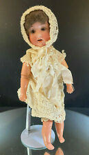 """German Bisque Doll-Recknagel-Nice Doll-14""""-Appears All Original-Buy It Now!"""