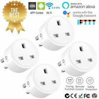 Wireless WiFi Smart Plug Sockets Power Socket for Amazon Alexa Google Home IFTTT