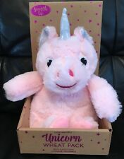 Unicorn - Microwavable - Wheat Pack - With Lavender - Pink - Brand New