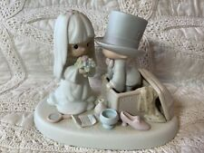 New ListingPrecious Moments Figurine Heaven Bless Your Togetherness #106755 Bride & Groom