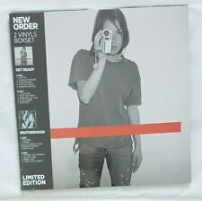 NEW ORDER ♦ NEW FRENCH LIMITED 2 x LP ♦ GET READY / BROTHERHOOD ( BOXSET !!! )