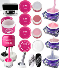 Silcare GEL UV BASE ONE LED Builder Clear Pink Cover Milkshake 50g spider IT