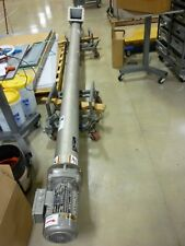 "6"" Diameter 14' Long Vertical Screw Conveyor Auger"