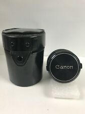 Canon Lens FD 35mm 1:3.5 Photo Camera Picture With Case