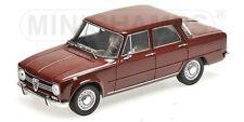 Alfa Romeo Giulia 1300 1966 oscuro rojo 1:18 Minichamps nuevo + original caja 180120906