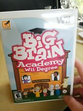 Big Brain Academy: Wii Degree (Nintendo Wii, 2007)
