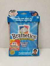 New Brainetics More Cool Memory Tricks  With DVD & Playbook