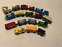 Authentic Thomas and Friends Wood Wooden Train Trains Engines Lot Of 19