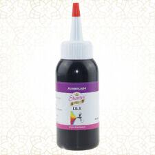 Lebensmittelfarbe flüssig für Backen Airbrush Fondant Kuchen Rot Lila Farbe