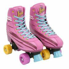 Soy Luna Rollschuhe Training Rollerskates Schnürung Sport Gr. 36/37 Pink B-WARE