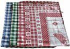 3 Dishcloths Cotton London House Item A302