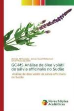 GC-MS Análise de óleo volátil de sálvia officinalis no Sudão Análise  5948