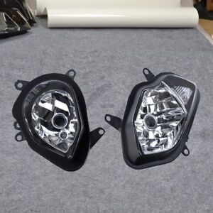 Front Headlight Assembly Headlamp Light Fit For BMW S1000RR 2015 2016 2017 2018