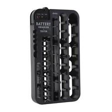 Ohuhu Battery Storage Organizer Rack 72 Batteries with Tester Case Hold AAA
