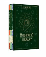 Hogwarts Library: Special Harry Potter J.K. Rowling 3 Book Collection NEW!