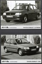 PRESS - FOTO/PHOTO/PICTURE - Toyota Starlet Set of 4 Photos