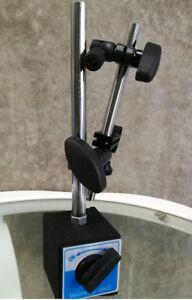 Magnetic Base Holder Adjustable Pole for Dial Indicator & Test Gauge