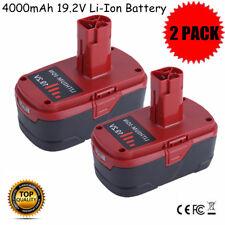 2PK 19.2Volt 4.0Ah Li-Ion Battery for Craftsman C3 PP2030 PP2025 11374 11375 MAX