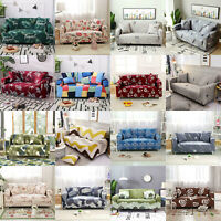1 2 3 4 Seater Stretch Sofa Covers Couch Cover Protector Elastic Slipcovers