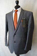 Men's Ben Sherman Grey Slim Fit Suit 42s W36 L30 Aa3069