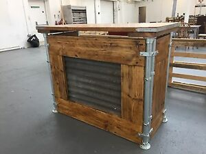 Portable Events Bar / Reception Desk Made To Order